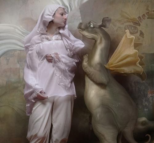 The last dragon. Beautiful Photoart by Russian photographer Vladimir Fedotko