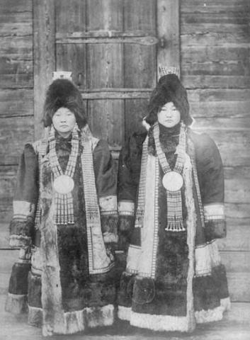 The native people inhabiting this region are Yakuts, some of them still retain Shamanist practices, they are historically semi-nomadic hunters, fishermen, reindeer breeders.