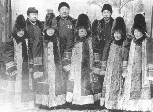 The native people inhabiting this region are Yakuts, some of them still retain Shamanist practices