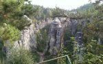 Prachov Rocks Natural Reservation in Czech Republic