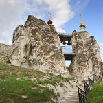 This chapel stands on a hill called Golgotha - in analogy to similar in the Holy Land.