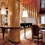 Interior in Tschuggen Grand hotel in Arosa, Switzerland
