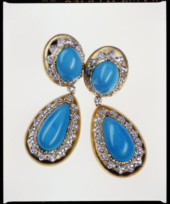 Turquoises and diamonds from our summer collection