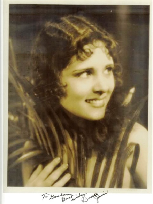 Silent film actress Dorothy Penelope Jones
