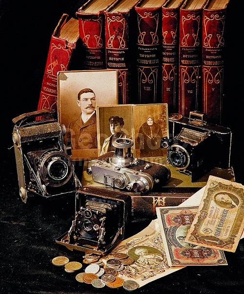 Vintage cameras by Alexander Knyazev