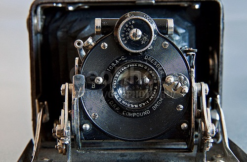 Dresden Vintage camera. Work by Russian photographer Alexander Knyazev