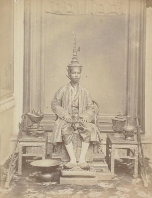 Siamese man, old photo