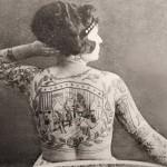 Irma Senta, the original tattooed lady