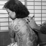 Japanese lady undergoing Head-to-toe tattoos