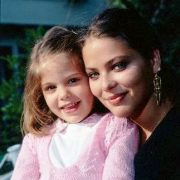 With her daughter Naike Rivelli (born 1974)