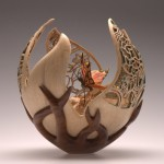 woodturning by British artist Joey Richardson
