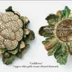 Cauliflower, Vegetable and fruit jewelry by Hemmerle and de Grisogono