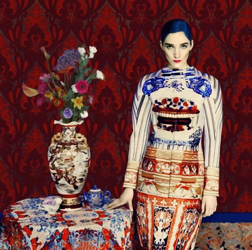 Erik Madigan Heck - Mary Katrantzou. Gorgeous Faberge style design