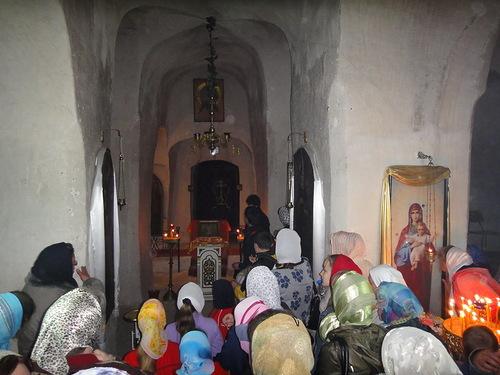 Inside female Spassky Monastery