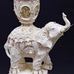 Beautiful porcelain elephant