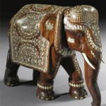 Gorgeous porcelain elephant