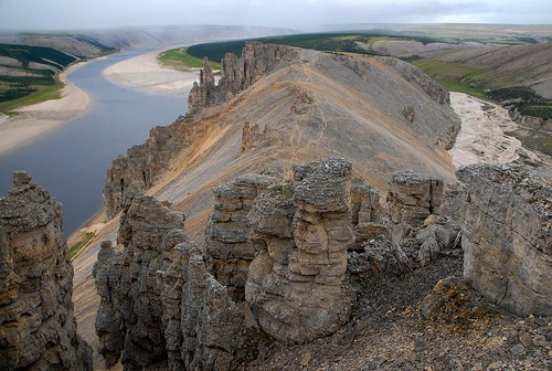 the Olenek River
