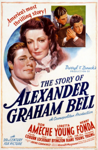the story of alexander graham bell poster