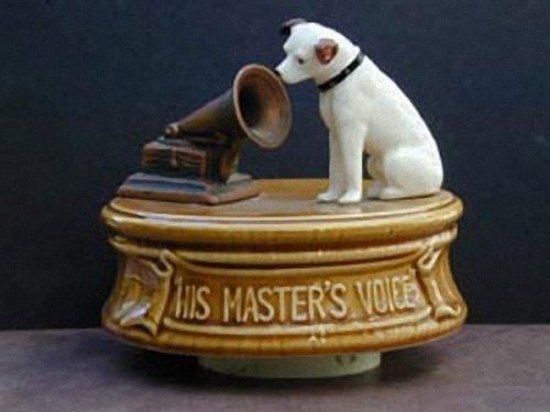 His Master's Voice sculpture