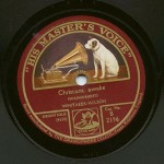 His Master's Voice record