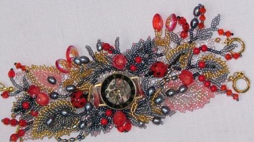 Bead decoration by Svetlana Ovintsovskaya