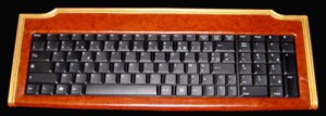 Gold-plated keyboard by French computer designer George Chirita