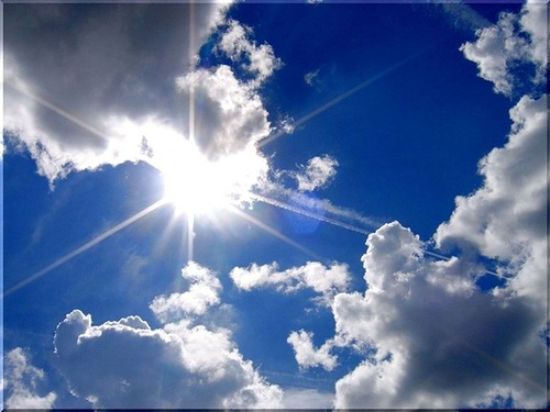 Dark economic clouds are dissipating into an emerging blue sky of opportunity. Rick Perry