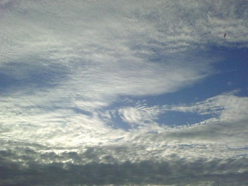 One who never doubted clouds would break, Never dreamed. Robert Browning
