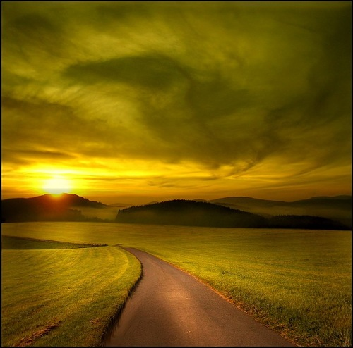 Sunset. Photo by Veronika Pinke