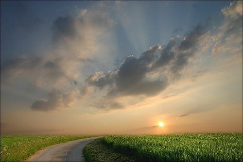 Cloudy sky. Photo by Veronika Pinke