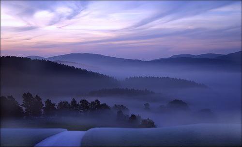 Colors of dawn. Photo by German photographer Veronika Pinke