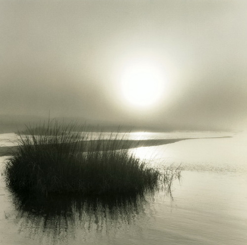 Last rays. Black and white photo by Toronto based photographer Michael Kahn
