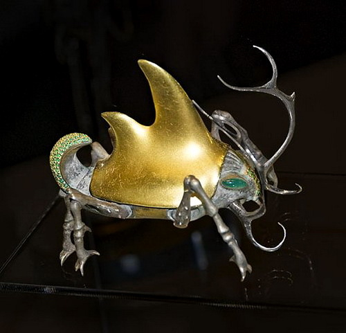 Beautiful jewelry by Dashi Namdakov, Russian jeweler