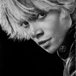 X-men. Storm. Hyperrealistic pencil drawing by Italian artist Franco Clun