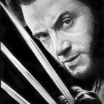 Wolverine. Hyperrealistic pencil drawing by Italian artist Franco Clun