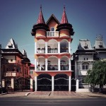 Paradise for local and invited architects – the town of Buzesku, Romania