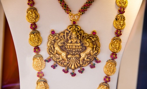 Exotic eastern jewellery