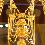 Gold parure