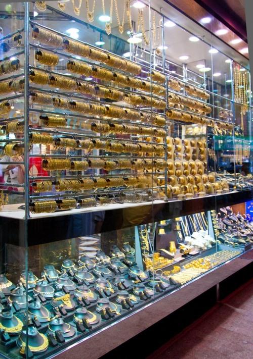 Impressive Gold market in Dubai