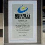 guiness world records certificate