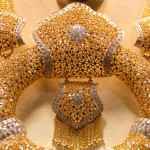 Fabulous gold lace decoration