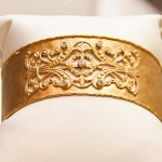 Wide bracelet