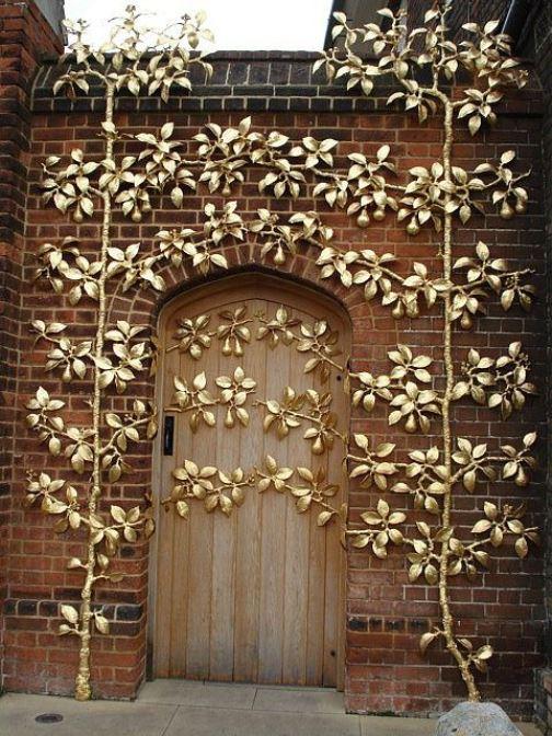 Beautiful design of door