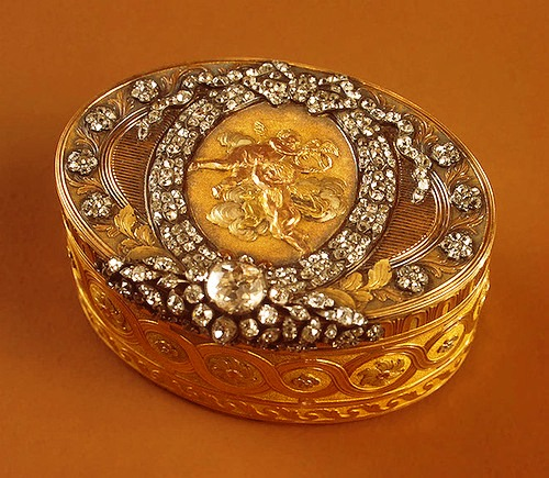 Snuffboxes from Hermitage