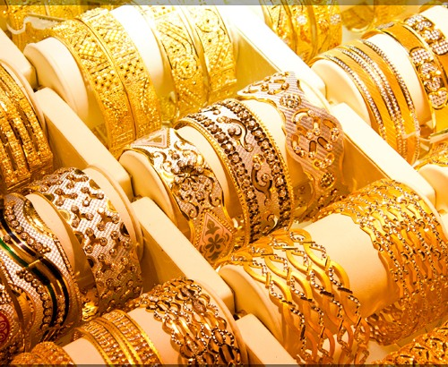Gold market of Dubai