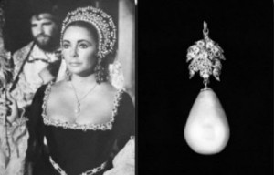 The oldest large pearl in existence – La Peregrina, which was caught in the 16th century. The La Peregrina was found of the coats of Panama and was given to Queen Mary of Spain. It was also purchased in 1969 by Richard Burton as a gift for Elizabeth Taylor.