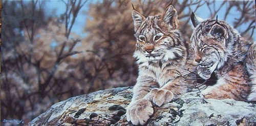 Incredibly realistic painting by Darren Haley
