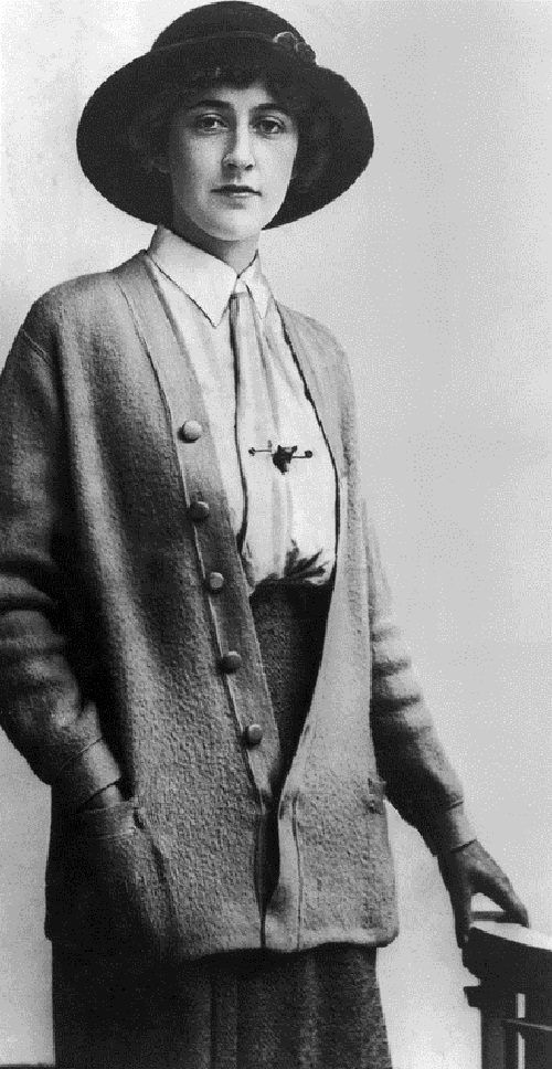 British mystery writer Agatha Christie (1891 – 1976). circa 1926 (Photo by Hulton Archive/Getty Images)