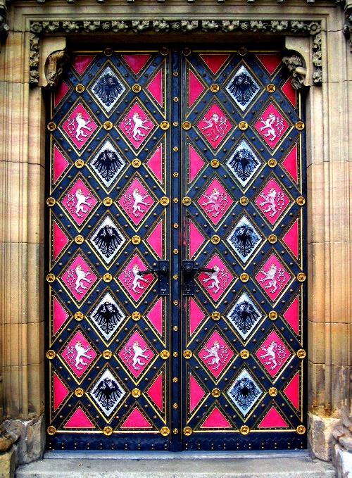A door as a piece of art
