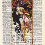 Art Deco print. Every book is a children's book if the kid can read! Mitch Hedberg